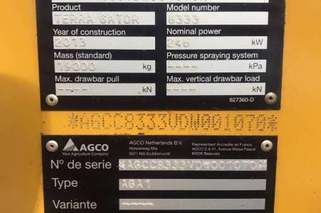 TERRA GATOR  8333 STROOIER