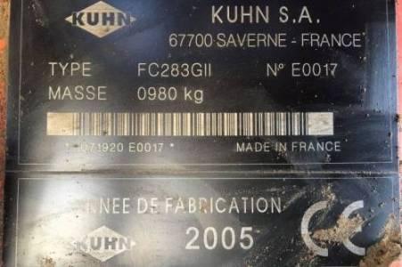 Kuhn FC 283 GII