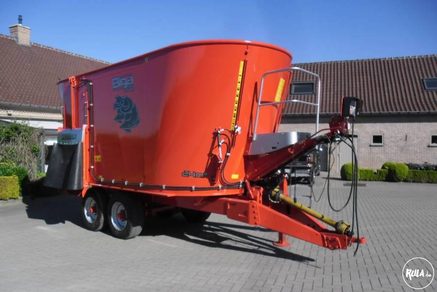 Mengvoerwagen Peecon 24 kub