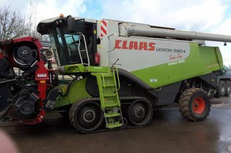 Claas Lexion 580+