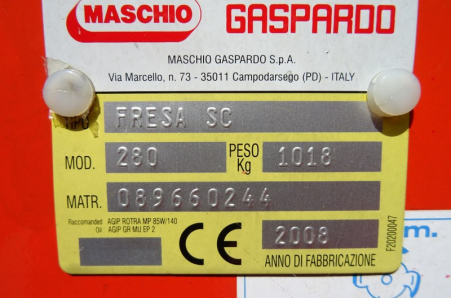 Gaspardo MASCHIO  FREES