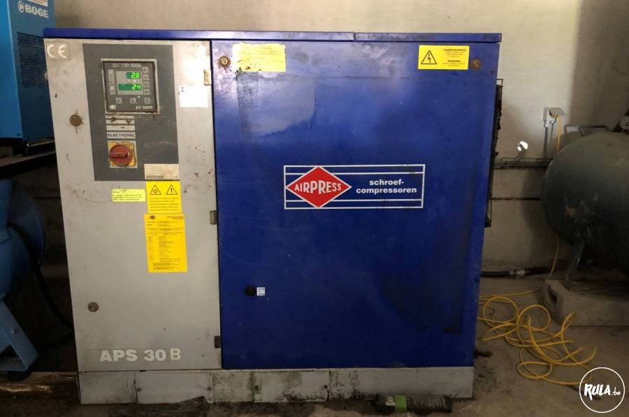 Schroefcompressor