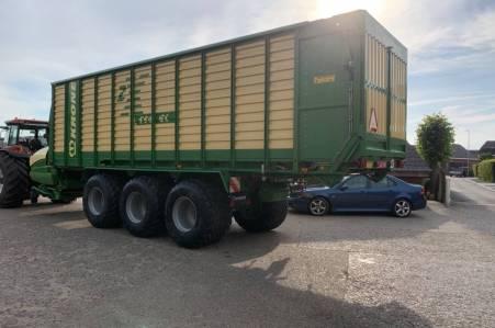 Combi-opraapwagen Krone ZX550GL