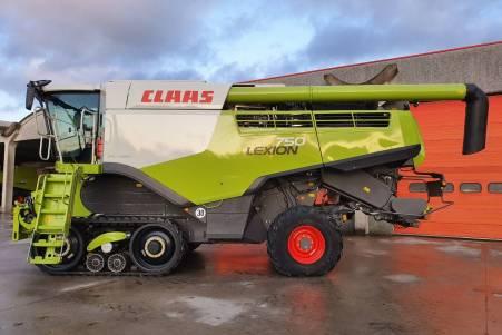 CLAAS LEXION 750 TT
