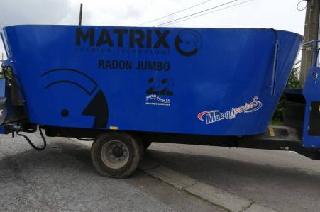 Matrix Radon jumbo