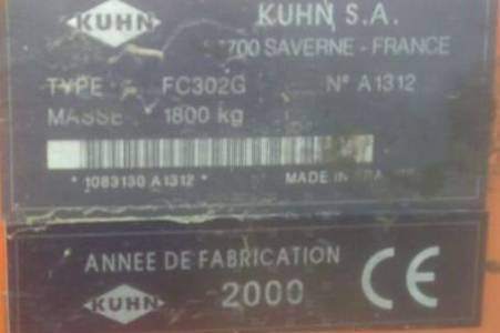 Kuhn KNEUZER FC 302 G