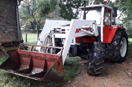 Tracteur Steyr 8090 Turbo